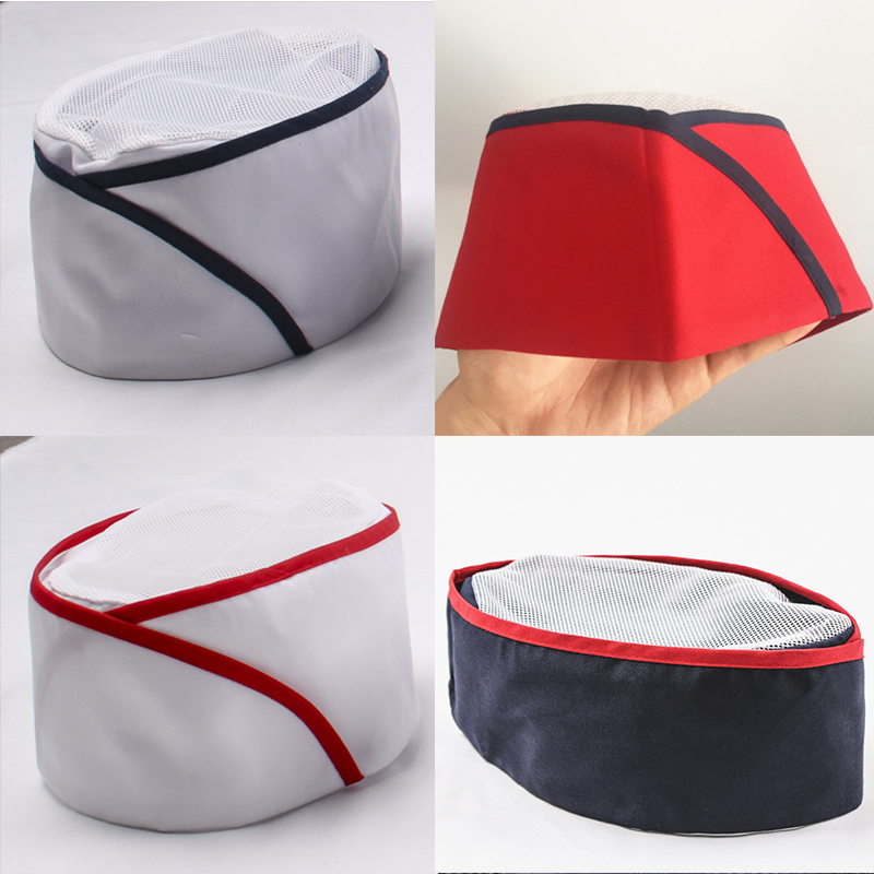 Japan And South Korea  Chef Hat Restaurant Sushi White Cap Baking Gauze Food Men And Women Work Hat Waiter Breathable Cook Hat