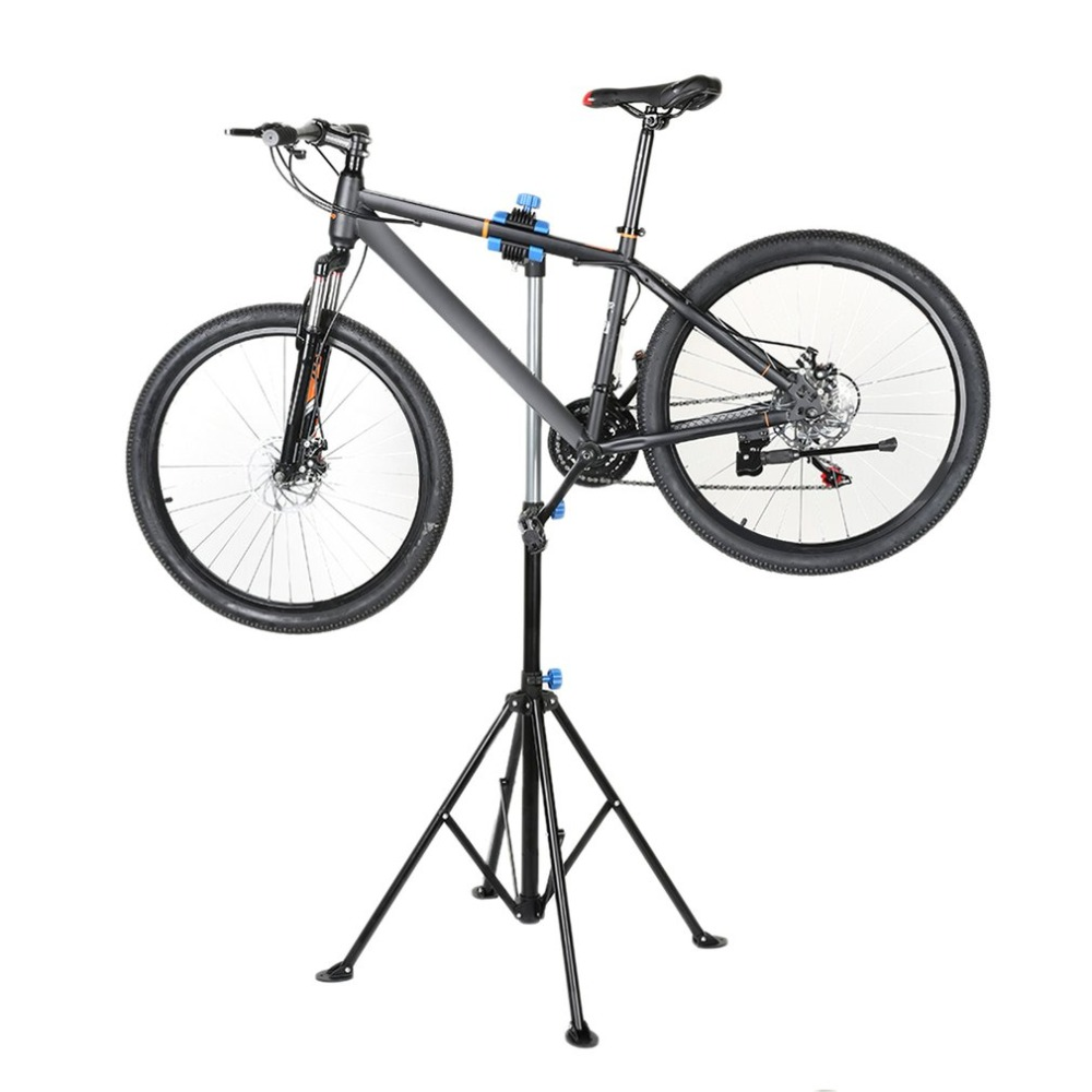 Aluminum Bike Repair Stand Kickstand Wings Kickstand Mountain Bicycle Rack Accessories Parking Hanger mountain bike repair stand kickstand wings kickstand road bicycle aluminum alloy rack bike repair tool accessories parking
