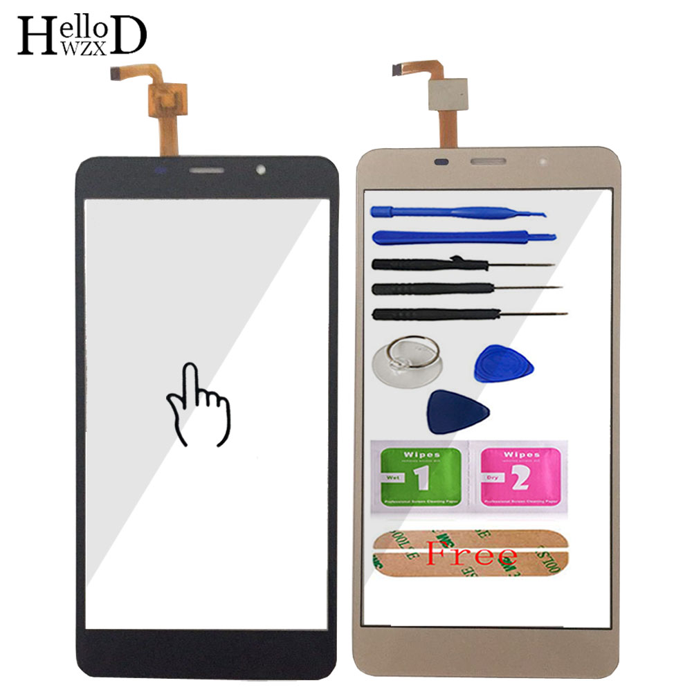 5.7 inch Mobile Phone Touchscreen For <font><b>Leagoo</b></font> <font><b>M8</b></font> / <font><b>M8</b></font> <font><b>Pro</b></font> Touch Screen Glass Digitizer Panel Lens Sensor Glass Adhesive Gift image