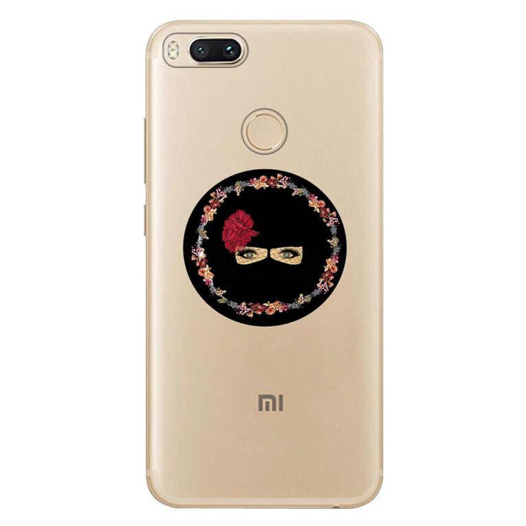 Для Xiaomi Redmi 4x Note 3 mi A1 Note 4 Pro 4A Note 5 6 6pro чехол мусульманский Isla mi c Gril Eyes арабский хиджаб чехол для девушек A622