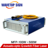 MAX Acousto optic Q switched Fiber Laser 100 500W Series 1064nm High Quality Use for Laser Mark Laser Cutting Laser Welding