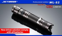 2015 Original JETBEAM WL S2 CREE XP L LED 1080 lumens flashlight daily torch Compatible with 18650 16340 battery