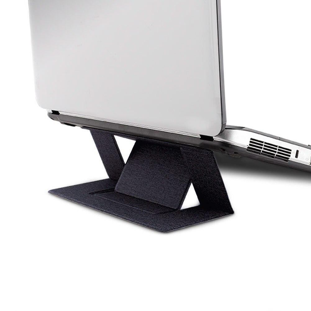 Laptop Tablet Desktop Stand Bracket iPad Adjustable Folding Metal Iron Frame