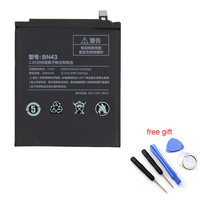 New Original Mobile Phone Battery BN43 4000mAh For Xiaomi Redmi Note 4X Replacement Battery Repair Tool