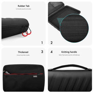 Image 4 - Vamson Large Waterproof Carrying Case PU for Gopro Hero 8/7/6/5 for DJI OSMO Action for Xiaomi YI Hard Shell Outdoor VP808
