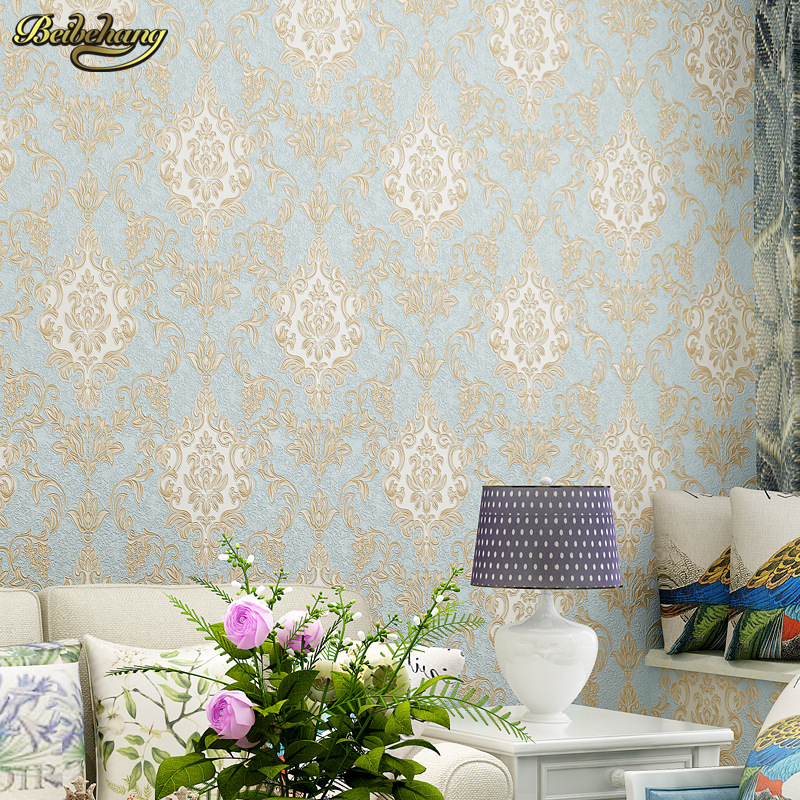 beibehang papel de parede Retro European 3d deep embossed pvc wallpaper bedroom full of living room TV background wall paper beibehang 3d wallpaper 3d european living room wallpaper bedroom sofa tv backgroumd of wall paper roll papel de parede listrado
