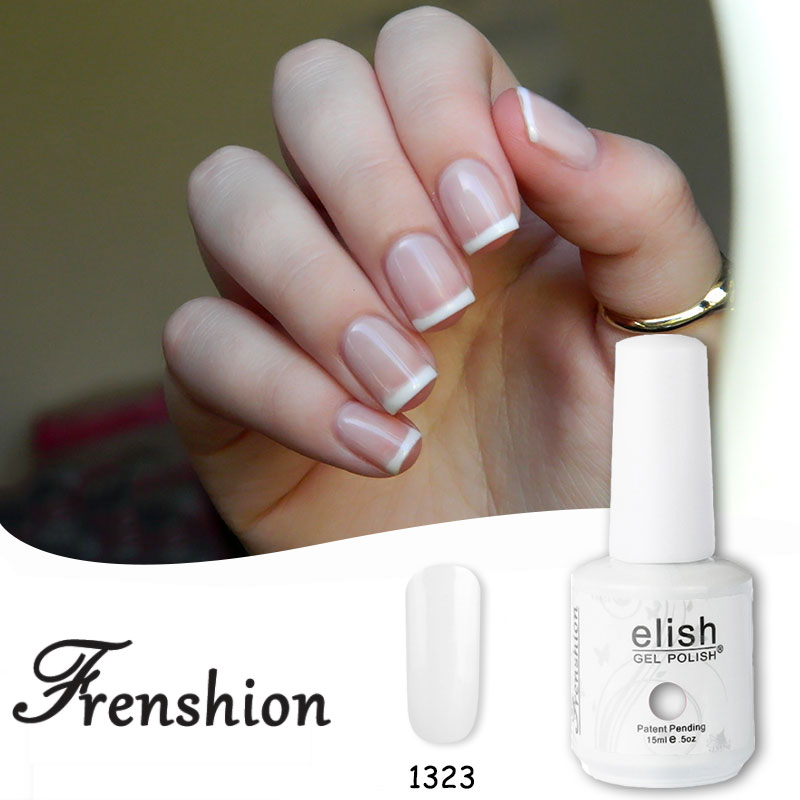 frenshion blanc french white base coat uv gel nail polish uv led shining vernis semi permanent. Black Bedroom Furniture Sets. Home Design Ideas