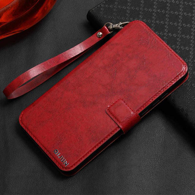 Retro Brieftasche Ledertasche für ZTE Blade V7 V8 Lite Max Mini Pro Luxus Magnetische Karte Stehen Flip Abdeckung Für ZTE V7 V8 Lite V9 V580