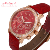 2019 Fashion Women Bracelet Watches Luxury Women Watch Miyota Quartz MELISSA Waterproof wrist Watches Relogio Feminino Leather