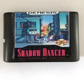 Shadow Dancer - 16 bit MD Games Cartridge For MegaDrive Genesis console