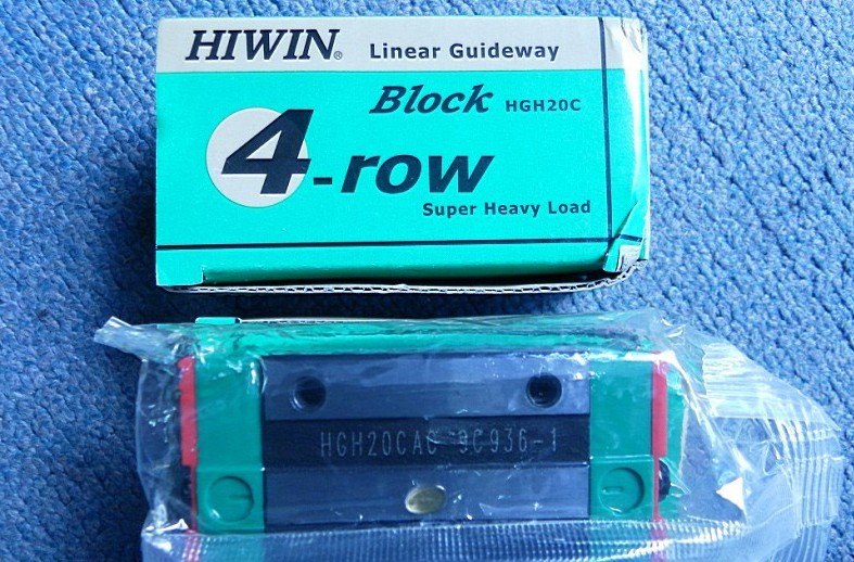 CNC HIWIN 2pcs HGH20CA Rail linear guide from taiwan cnc hiwin hgw30cc rail linear guide from taiwan