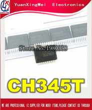 10 ชิ้น/ล็อต CH345 CH345T USB transfer MIDI ชิป SSOP20 จัดส่งฟรี