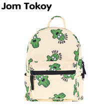 Jom Tokoy Preppy Style Mini Backpack High quality Polyester lovely boy cactus pr