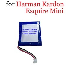 2000mAh Battery for Harman Kardon Esquire Mini Speaker Loudspeaker 3.7V Li-Ion Rechargeable Accumulator Replacement P655252  - buy with discount