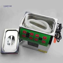 ZJMZYM New Arrival Adjustable Household 304 Stainless Steel Ultrasonic Cleaners BG-02C Digital Cleaning Machine 220v 100W 3 L