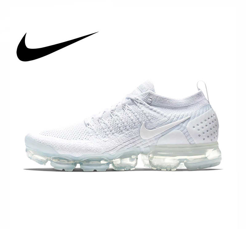 buy popular cd9d6 2d368 Original authentic NIKE AIR VAPORMAX FLYKNIT 2.0 men's running shoes  outdoor classic sports shoes new breathable 942842-100