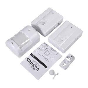 Image 3 - PIR Motion Sensor Detector Wireless Door Bell Alert Home Security  System Anti theft Doorbell Alarm for Driveway Patrol Garage