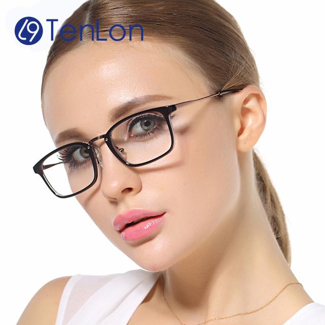 TenLon design clássico do vintage qualidade óculos mulheres, óculos de armação oculos de grau femininos, masuculino eye glasses oculos wzM
