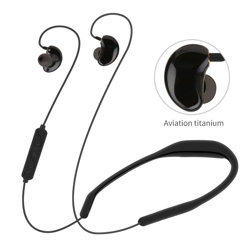 Écouteurs Bluetooth sans fil dans l'oreille aimant écouteurs avec Microphone stéréo Auriculares Bluetooth écouteur pour téléphone haut 5.30