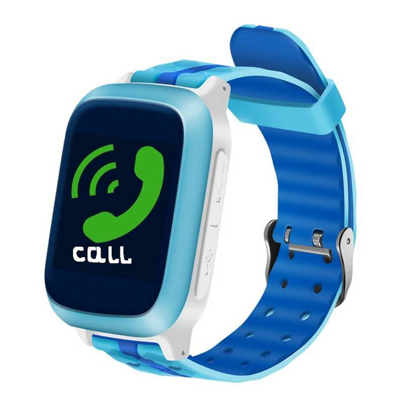 DS18 GPS เด็กสมาร์ทนาฬิกา DS18 GPS WiFi Locator Tracker เด็กนาฬิกาข้อมือกันน้ำ SOS Call Smartwatch Child สำหรับ IOS Android