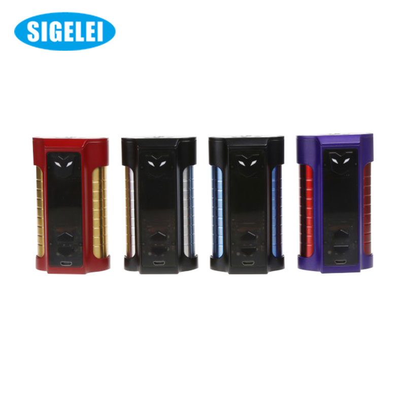 220W Electronic Cigarette Original Sigelei MT TC Box Mod Powered by 18650 Battery not include VS Smok Alien Box Mod Starter Kit free shipping techone kraftei epo kit version not include any electronic parts