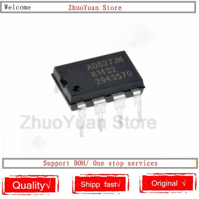 1PCS/lot AD827JNZ Chip AD827JN DIP-8 AD827 DIP New Original IC Chip