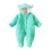 Roupas de Inverno Engrossar Quentes recém-nascidos Roupa Do Bebê Animais Romper Do Bebê Subir Roupas de Algodão-Acolchoado Velo Macacão Macacão Com Capuz
