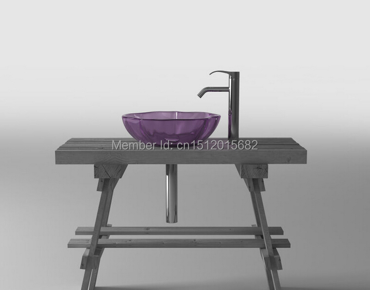 All NEW Colored Resin Acrylic Hand WASH BASIN Cloakroom Vanity sink COUNTER TOP Bathroom Round Vessel Sink 2022