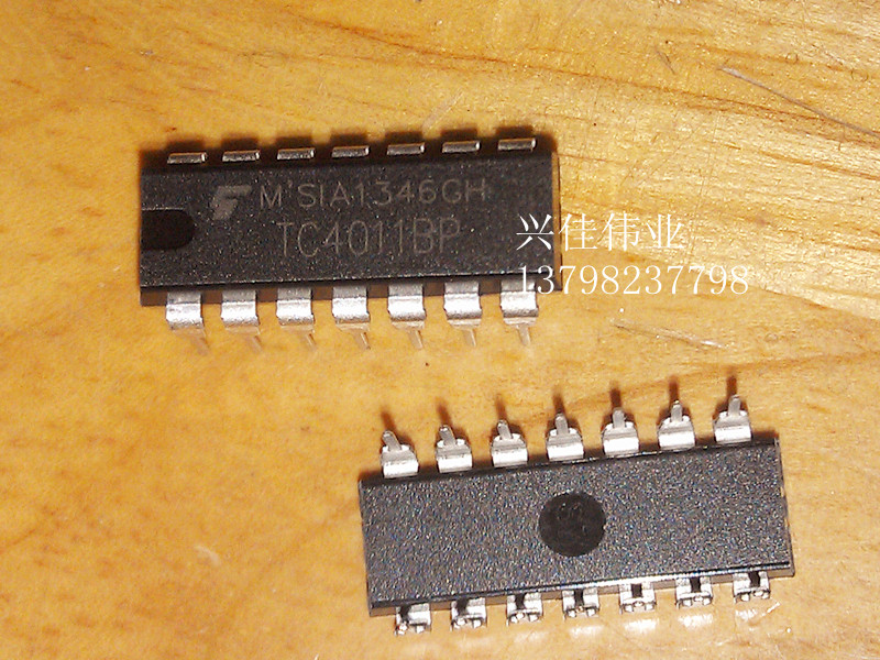 10PCS New TC4011BP TC4011 line DIP-14 Quad 2- input NAND gate