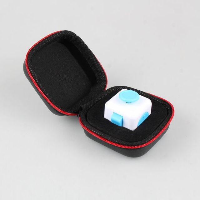Factory Direct Sale Anti Irritability To Ease The Pressure Fidget Cube Toys Prism Case Stress Reliever