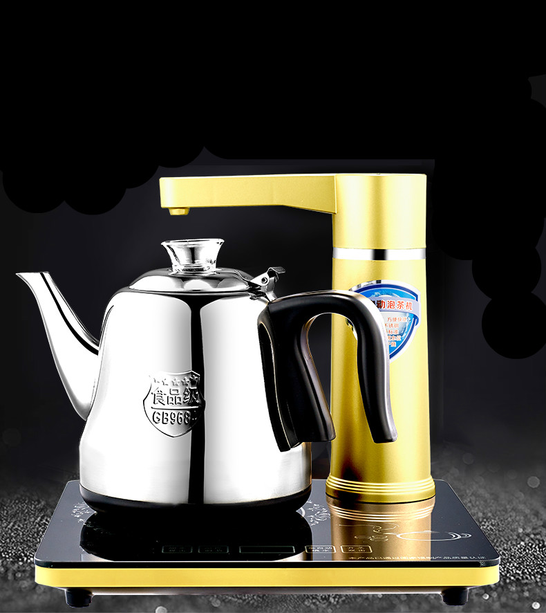 Fully automatic upper water bottle Electric kettle quick boiling ketting-kettle tea set  stove Safety Auto-Off Function fully automatic upper water electric kettle 304 tea set teapot for household use