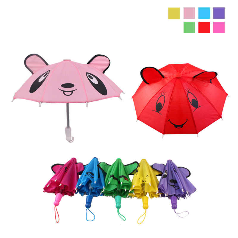 Baby Girl Doll Cool Fashion Umbrella Accessories For Generation 18inch Girl Doll Accessory Doll Clothes Toy