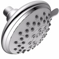 Xogolo 5-Inch SPA Shower Head High Pressure - 6 Fuctions including 5 Sprays + Water-Saving,Polished Chrome, Adjustable Head
