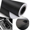 New 3D Carbon Fiber Vinyl Film Car Accessories Motorcycle Carbon Fibre Car Wrap Sheet Roll Film Sticker Decal Car Styling