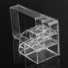 Organizer Storage Box Acrylic Cosmetic Display box for Makeup Storage transparent