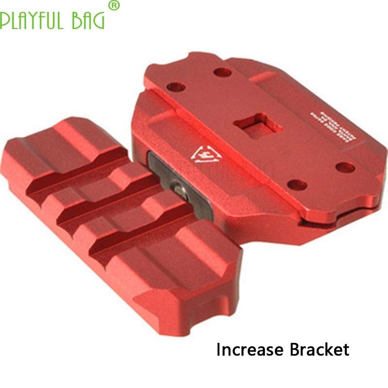 Sports CS pecial use of toy water bomb refit SI-REX holographic exoskeleton red dot mirror bridge bracket Increased bracket OI03 fk sports si 101d