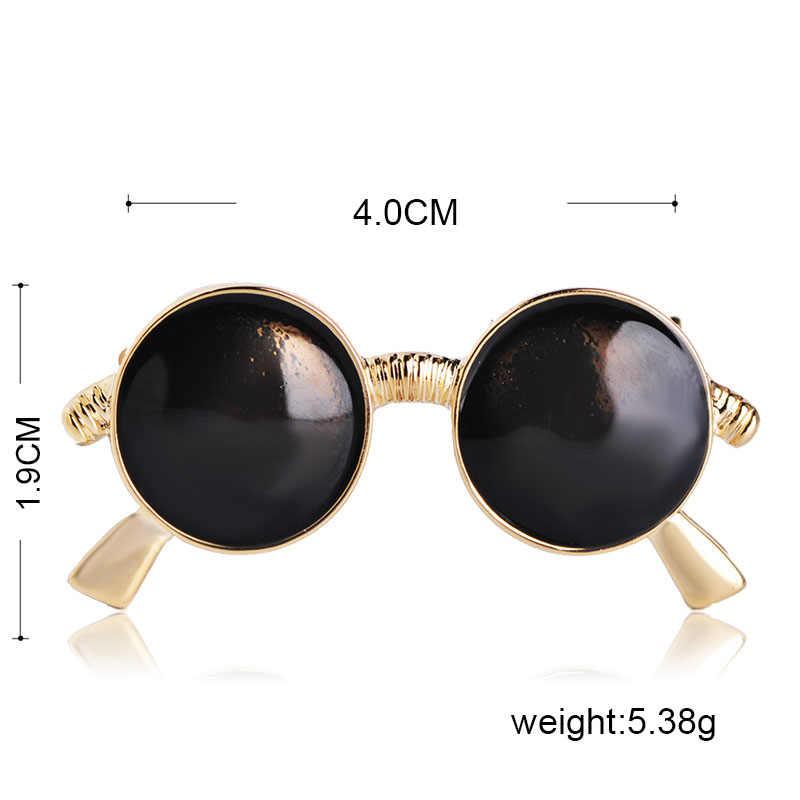 Blucome แฟชั่นสีดำแว่นตารูปผู้หญิงผู้ชายเด็กเสื้อผ้าทุกวันชุดกระเป๋าหมวกเครื่องประดับ Pins ผ้าพันคอหัวเข็มขัด