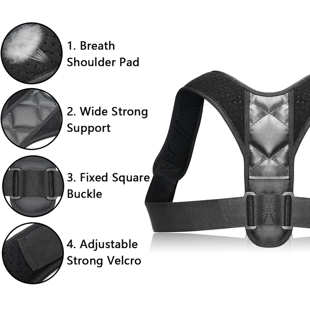 Adjustable Back Posture Corrector Clavicle 5
