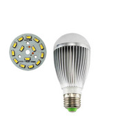 100X Wholesale E27 7W LED bulb lamp with 5730SMD light board high quality led bulb light express free shipping