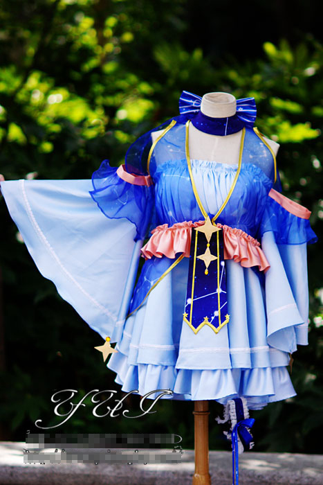 Neige Custom Livraison De Uniformes 2017 Made Costume Gratuite Miku Personnel Cosplay Star Vocaloid fPOCycf