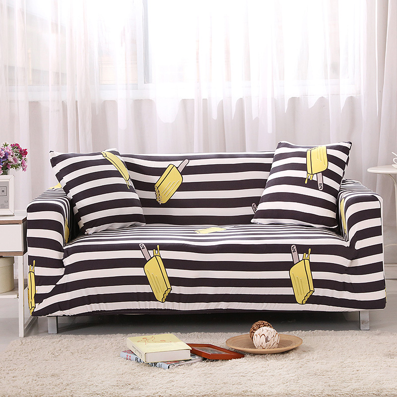 New Fashion Design Universal Elastic Sofa Cover Living Room Furniture  All Inclusive Sofa Slipcover Easy Installation