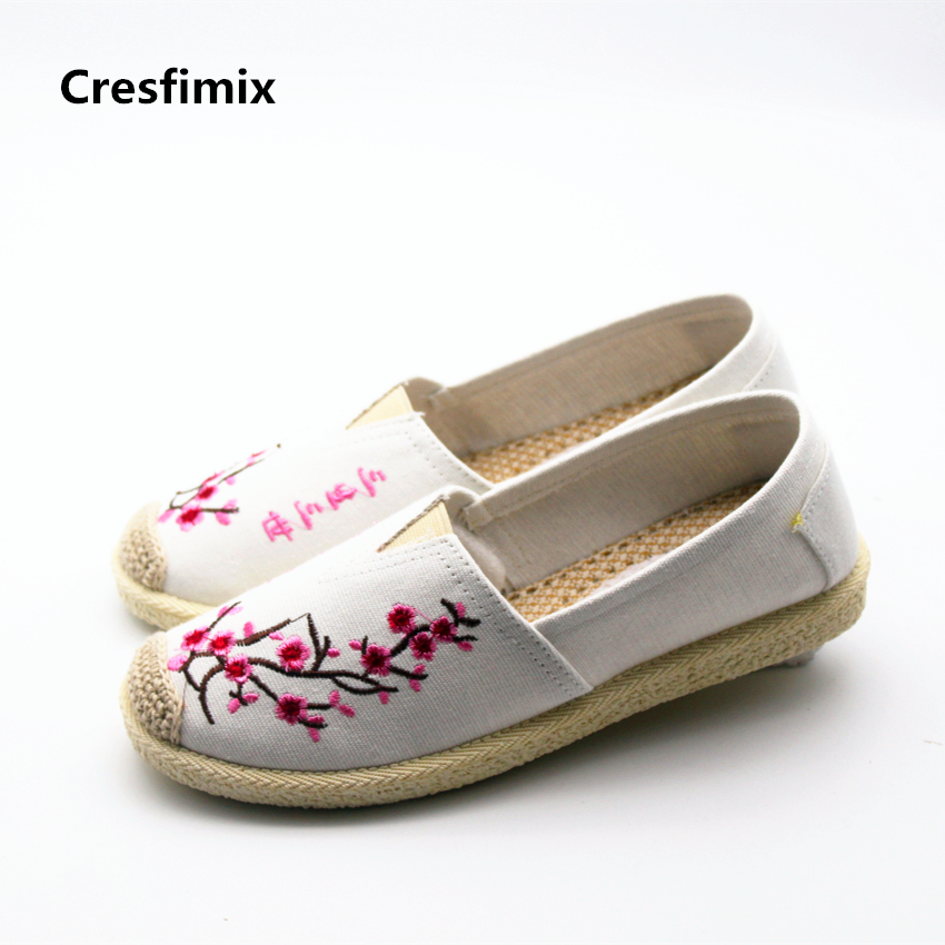 Cresfimix zapatos de mujer women fashion spring & summer round toe flat shoes female comfortable street shoes lady cute shoes cresfimix women fashion