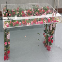 New arrival acrylic crystal wedding centerpiece event party decoration table