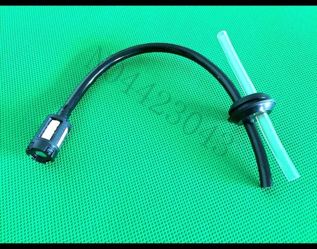 Fuel Hose Oil Pipe + Tank Fuel Filter With Holes Rubber Washer For Grass Strimmer Trimmer Brush Cutter Tool Parts