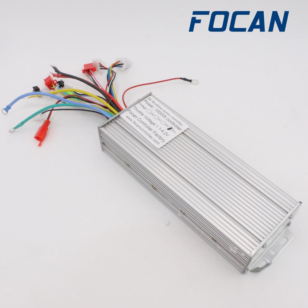 FOCAN 18 Mosfets 48V 1000W/1500W 45A Dual Mode Brushless Electric Bike Bicycle Controller