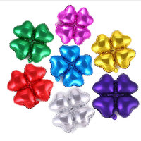 20pcs Lot 18 Inch Birthday Wedding Party Decoration Multicolor Heart Wedding Party Flower Aluminum Foil Balloon