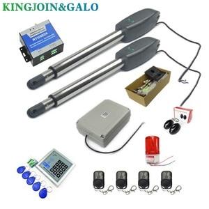 Image 4 - DC24V AC220V リニアアクチュエータウォームギア自動スイングゲートオープナー (フォトセル、ランプ、ボタン、 gsm 、キーパッドオプション)