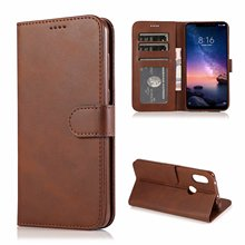For Xiaomi Redmi note 6 pro Case High Quality Flip Leather Cases Stand PU