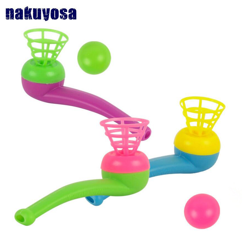 Magic Floating Ball Game Kids Kids Party Favor Blow Pipe Balls Pinata Toy Party Loot Bag Fillers Birthday Party Game Magic Toy