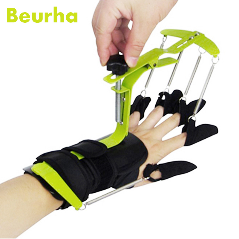 Health Massage Multifunctional Wrist Hand Fingers Wrist Hand Exercises Recovery Training Dynamic Wrist finger Orthosis Mechines hand wrist orthosis separate finger flex spasm extension board splint apoplexy hemiplegia right left men women